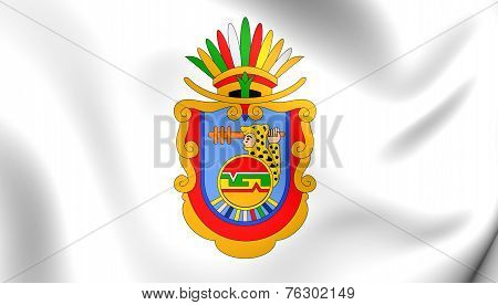 Flag Of Guerrero, Mexico.