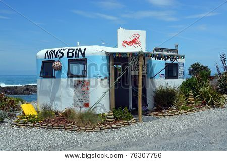 Nins Bin Crayfish & Lobster Shop, Kaikoura