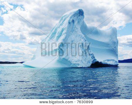 Iceberg In Atlantic Ocean Off Newfoundland