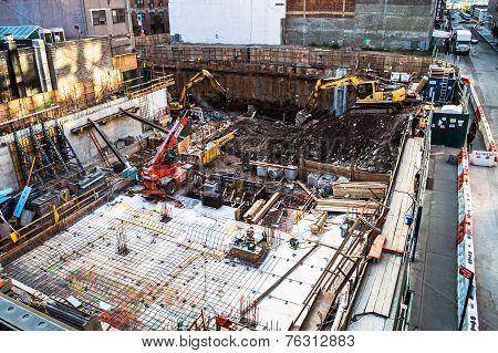 Foudation Work Site