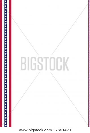 American Flag Decoration Strips