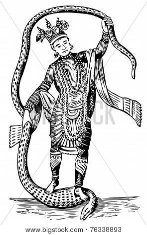 Vishnu In The 8Th Avatar
