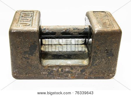 Old Calibration Weight Ten Kilogram Seal