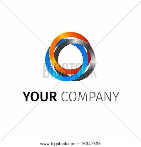 Abstract Circles Logo