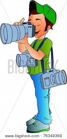 Professional Photographer, Illustration