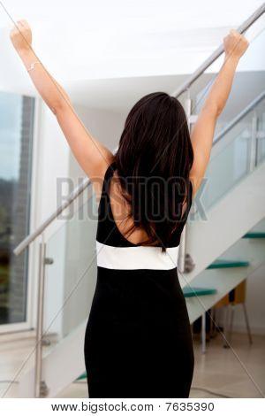 Business Woman Success