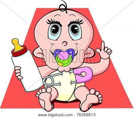 Baby, Illustration