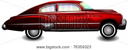 Classic Sports Car, Illustration