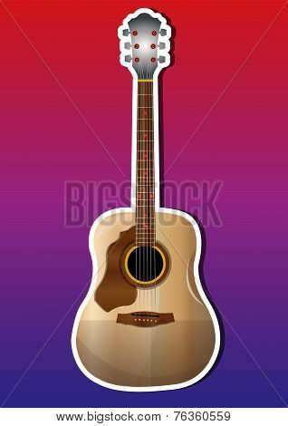 Guitar, Illustration