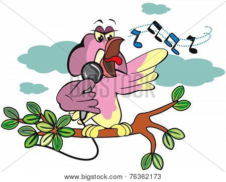 Singing Bird, Illustration