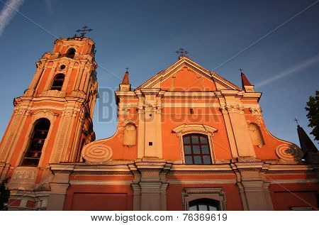 All Saints Church in Vilnius
