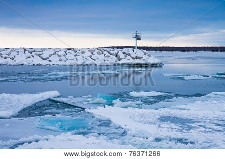 Blue Winter Ice