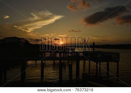 Sun Rise, Holden Beach NC, Inner costal water way Holden Beach NC