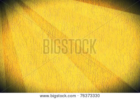 Yellow Striped Mortar Wall