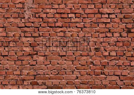 Vintage Old Brick Layers Textured Background