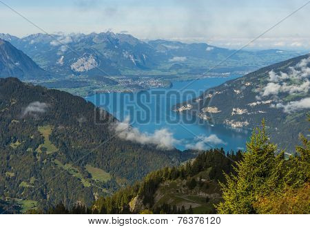 Thunersee In Berner Oberland