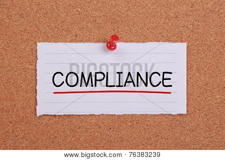 Compliance Concept Note