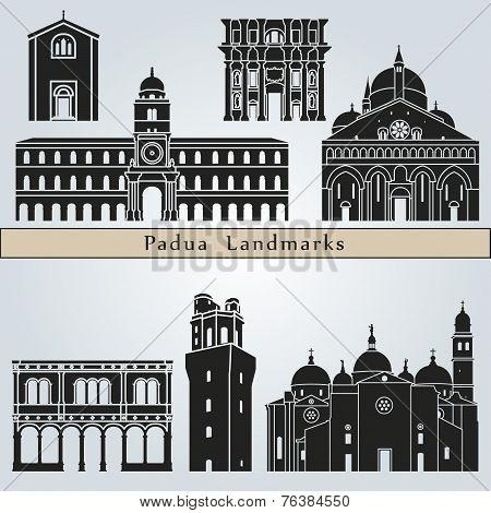Padua Landmarks And Monuments