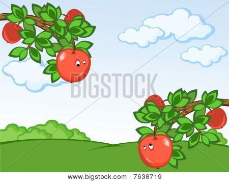 Comic Apples