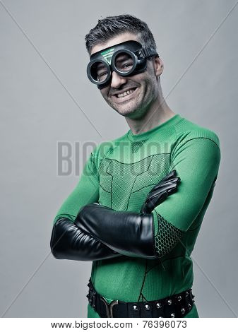 Cheerful Superhero