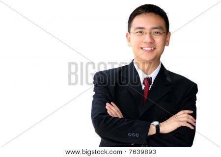 Good Looking Asian Business Man