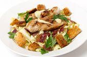 stock photo of italian parsley  - Chicken caesar salad - JPG