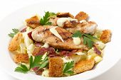 picture of italian parsley  - Chicken caesar salad - JPG