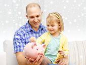 stock photo of piggy  - family - JPG