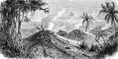 picture of bolivar  - Volcanoes Turbaco vintage engraved illustration - JPG