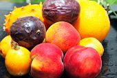 stock photo of nack  - Exotic fruits - JPG