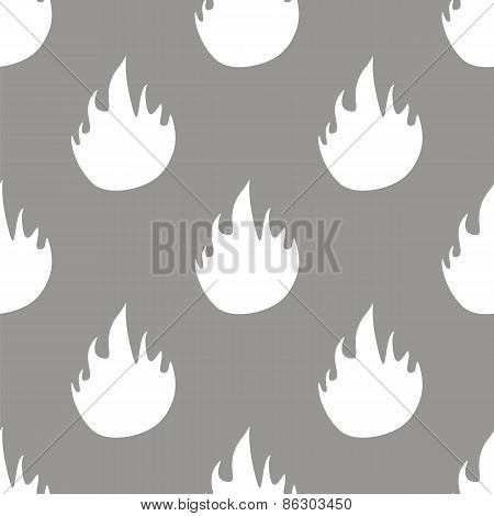 Fire seamless pattern