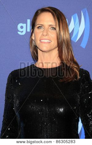 LOS ANGELES - MAR 21:  Amy Landecker at the 26th Annual GLAAD Media Awards at the Beverly Hilton Hotel on March 21, 2015 in Beverly Hills, CA