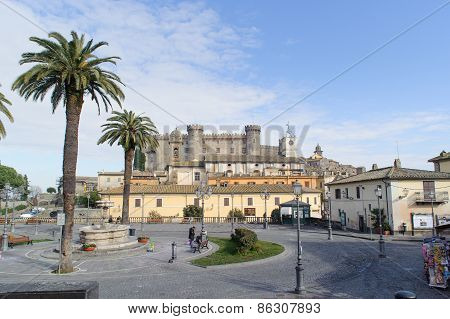 Rome, Italy - January 20, 2010: Castello Orsini-odescalchi