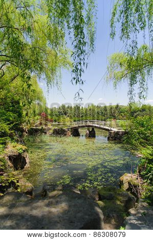 Paju, Korea - May 16, 2011: Landscape Of Byeokchoji Botanical Garden
