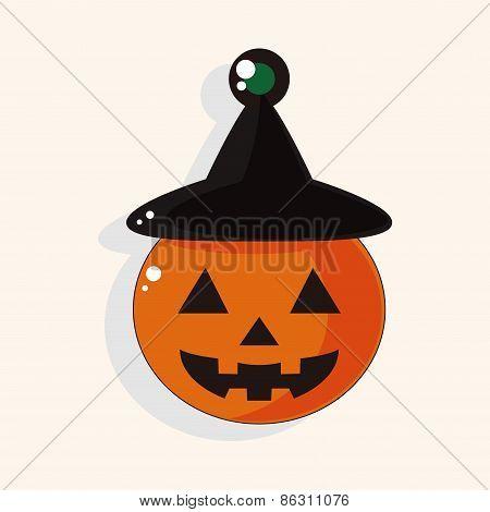 Halloween Pumpkin Theme Elements