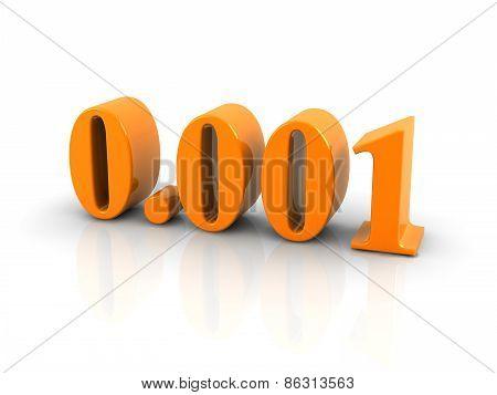 Number 0.001