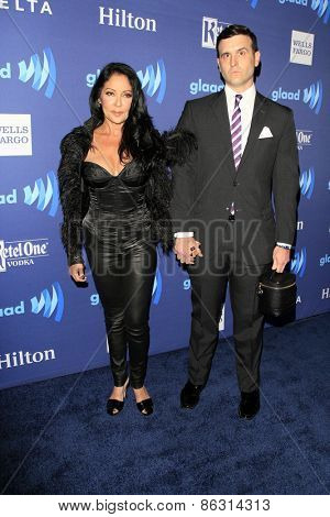 LOS ANGELES - MAR 21:  Apollonia Kotero at the 26th Annual GLAAD Media Awards at the Beverly Hilton Hotel on March 21, 2015 in Beverly Hills, CA