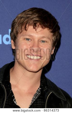 LOS ANGELES - MAR 21:  Guy Wilson at the 26th Annual GLAAD Media Awards at the Beverly Hilton Hotel on March 21, 2015 in Beverly Hills, CA