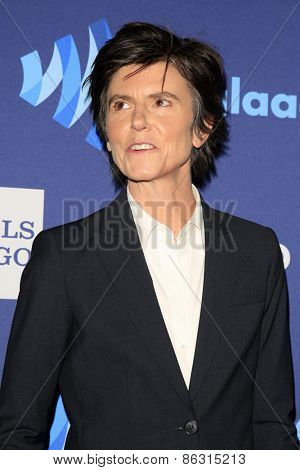 LOS ANGELES - MAR 21:  Tig Notaro at the 26th Annual GLAAD Media Awards at the Beverly Hilton Hotel on March 21, 2015 in Beverly Hills, CA