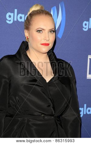 LOS ANGELES - MAR 21:  Meghan McCain at the 26th Annual GLAAD Media Awards at the Beverly Hilton Hotel on March 21, 2015 in Beverly Hills, CA