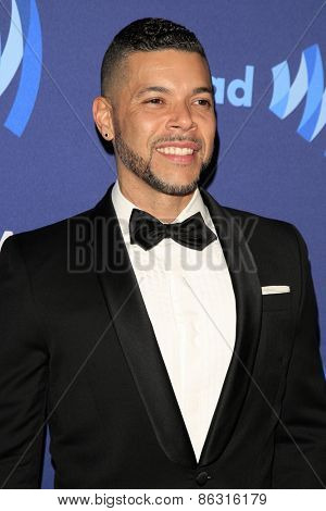 LOS ANGELES - MAR 21:  Wilson Cruz at the 26th Annual GLAAD Media Awards at the Beverly Hilton Hotel on March 21, 2015 in Beverly Hills, CA