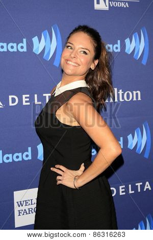 LOS ANGELES - MAR 21:  Yara Martinez at the 26th Annual GLAAD Media Awards at the Beverly Hilton Hotel on March 21, 2015 in Beverly Hills, CA