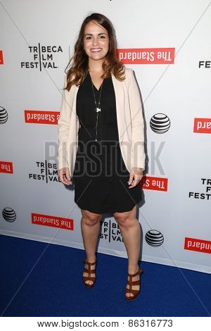 LOS ANGELES - MAR 23:  Carolina Groppa at the 2015 Tribeca Film Festival Official Kick-off Party at the The Standard on March 23, 2015 in West Hollywood, CA