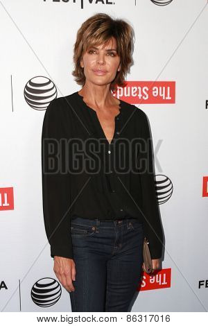 LOS ANGELES - MAR 23:  Lisa Rinna at the 2015 Tribeca Film Festival Official Kick-off Party at the The Standard on March 23, 2015 in West Hollywood, CA