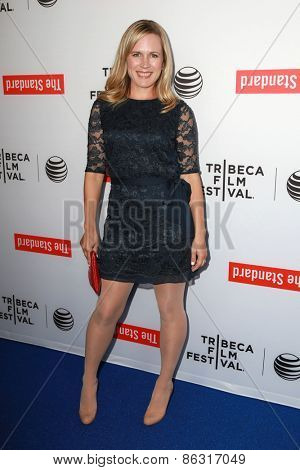 LOS ANGELES - MAR 23:  Caroline Lesley at the 2015 Tribeca Film Festival Official Kick-off Party at the The Standard on March 23, 2015 in West Hollywood, CA