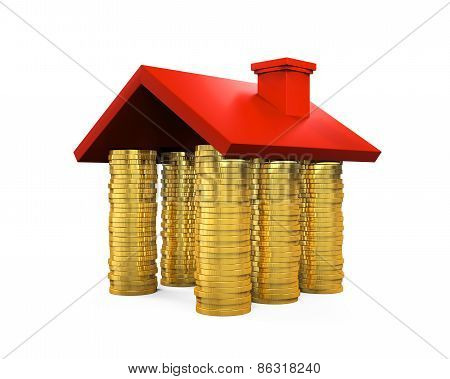 Golden Coins House