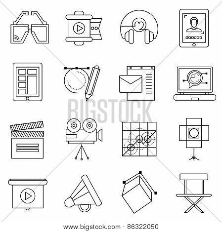 production studio icons