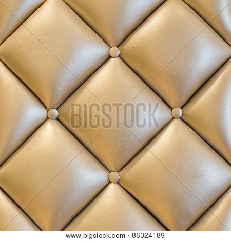 Luxury Vintage Style Fabric With Button Texture From Sofa