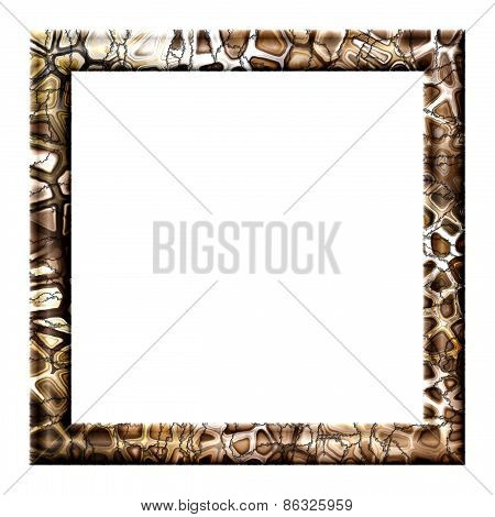 Photo Frame With Cracks