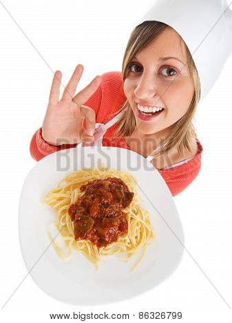 Cook With Spaghetti